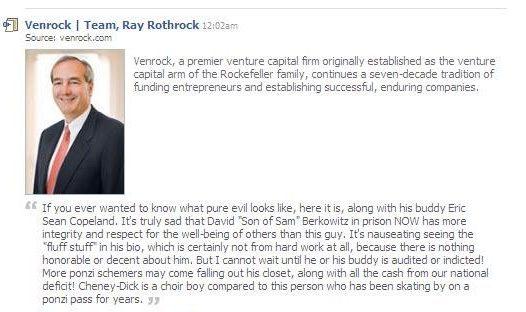 Ray Rothrock Venrock/Rockefeller